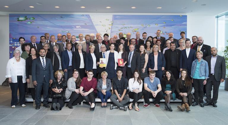 Bundeskanzleramt und DGB-Vorstand