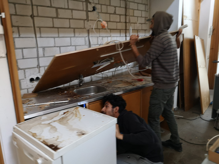 Renovierung des Impuls Coaching Zentrums